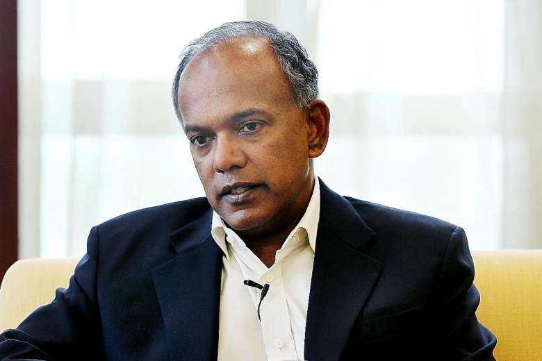 Home Affairs and Law Minister,Shanmugam,connectedtoindia