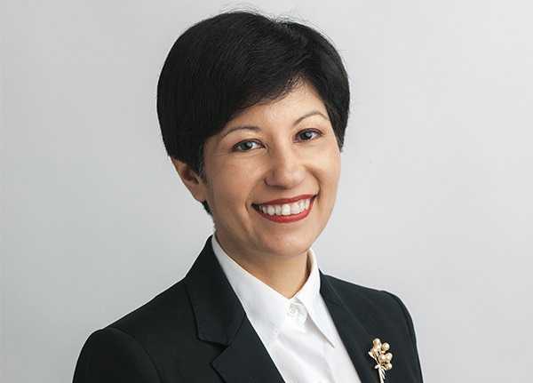 Senior Minister of State for Finance Indranee Rajah
