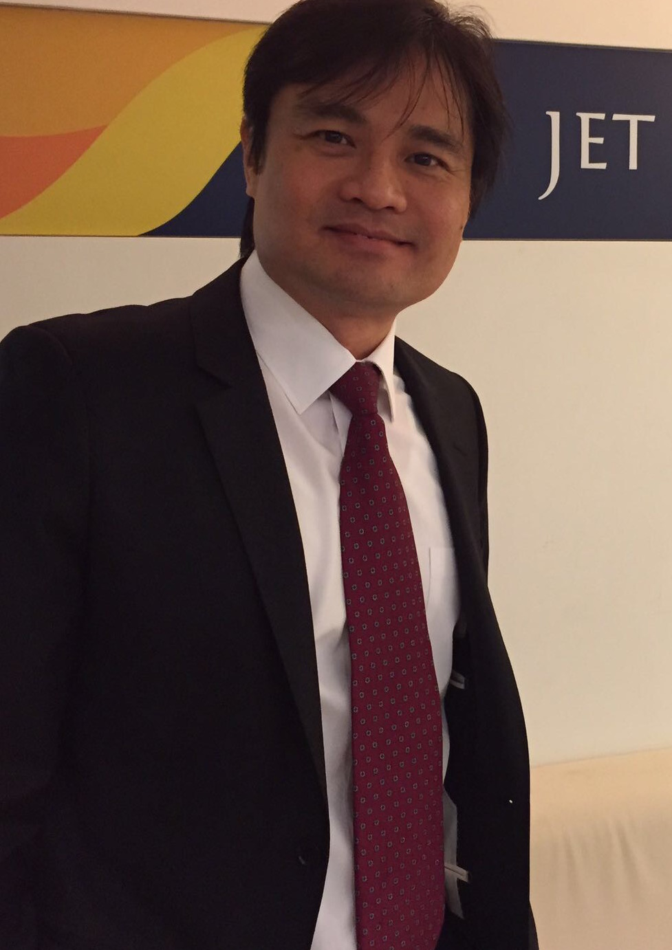 Paul Wu, General Manager, Jet Airways Photo courtesy: Jet Airways