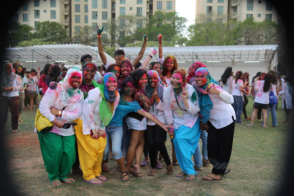 Rang De Holi at Kembangan 2017