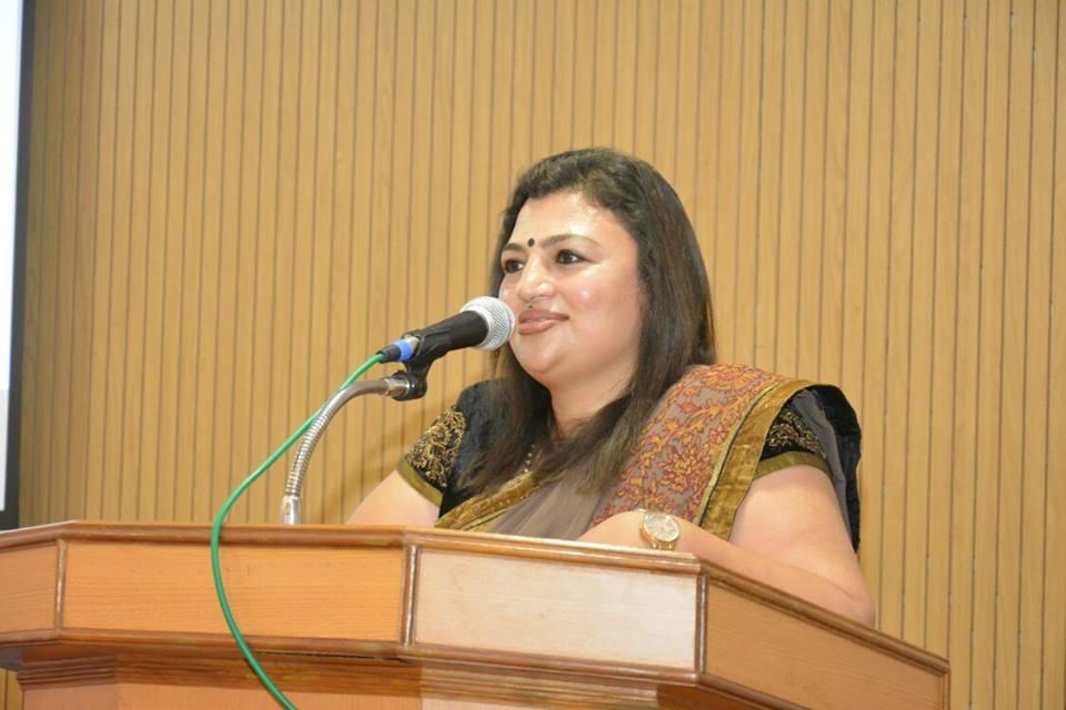 Dr. Arathi Krishna, Deputy Chairman, NRI Forum Karnataka