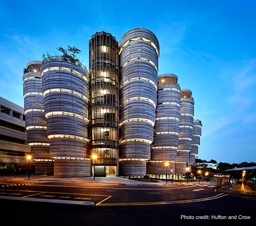 The Hive at NTU. Photo courtesy: NTU