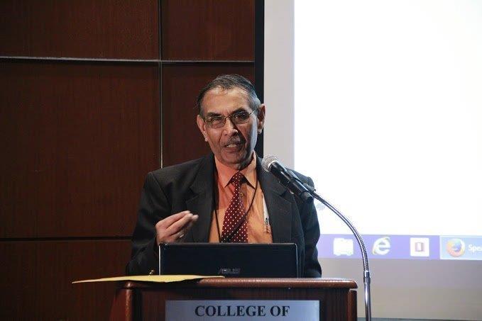 Dr Rampersad Parasram, Chairman of the Indian Diaspora Council