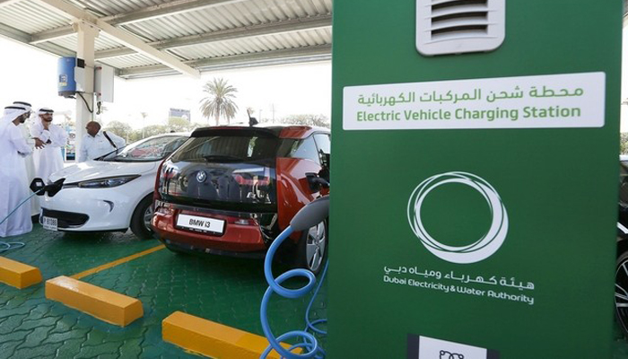 DEWA will set up 200 electric vehicle charging stations across Dubai.