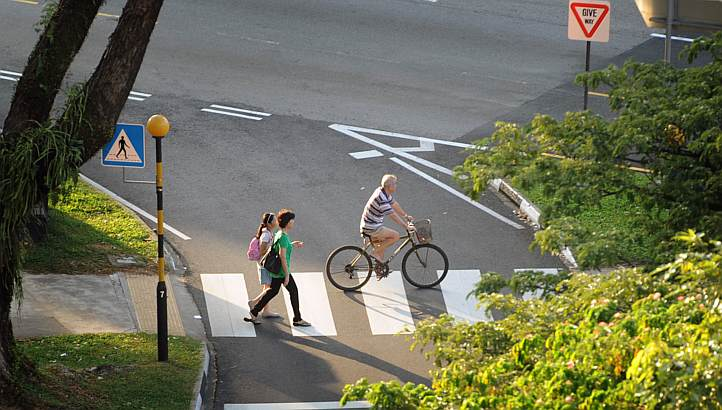 cyclists should take greater care when sharing paths with pedestrians