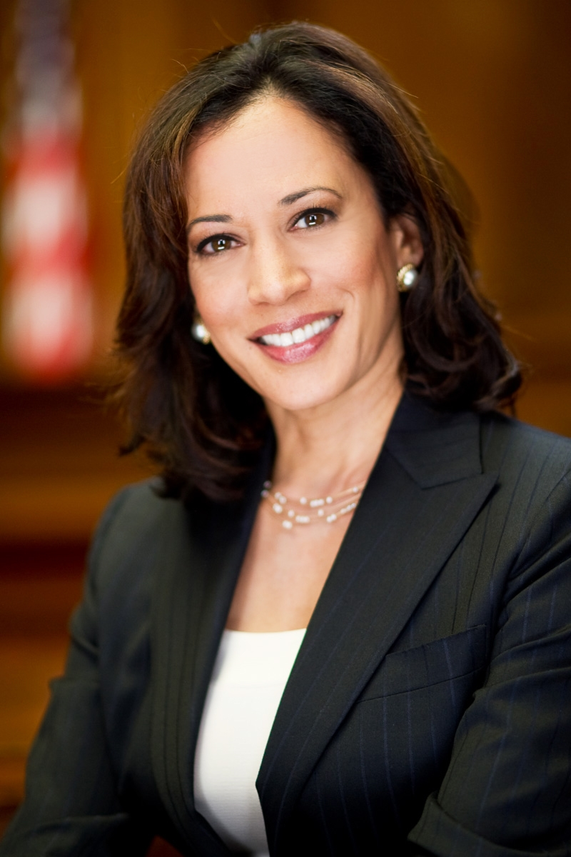 Indian-American Democrat Senator from California Kamala Harris