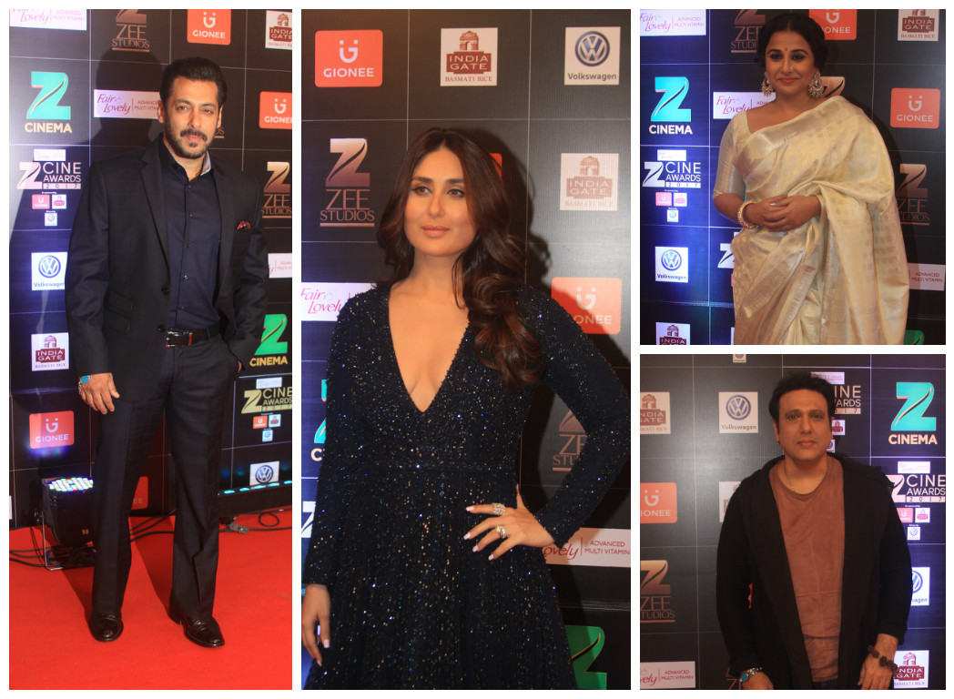 From left (clockwise): Salman Khan, Kareena Kapoor Khan, Vidya Balan and Govinda.