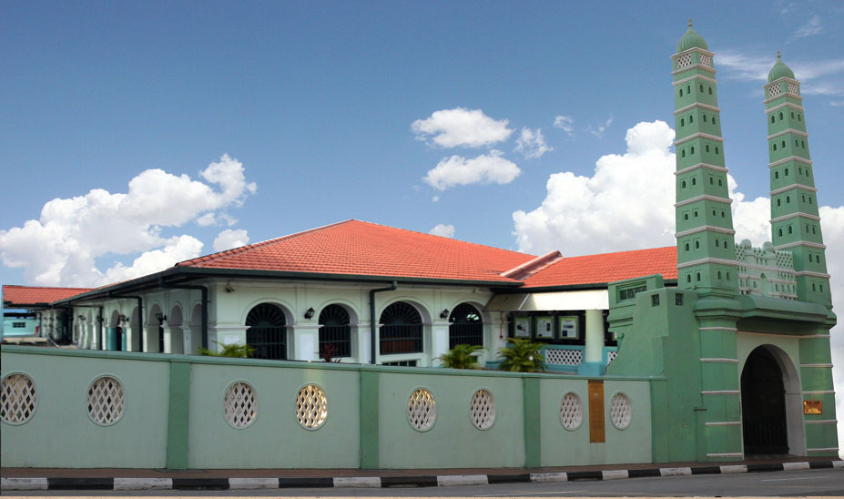 Jamae Chulia Mosque. Photo courtesy: masjidjamaechulia.sg
