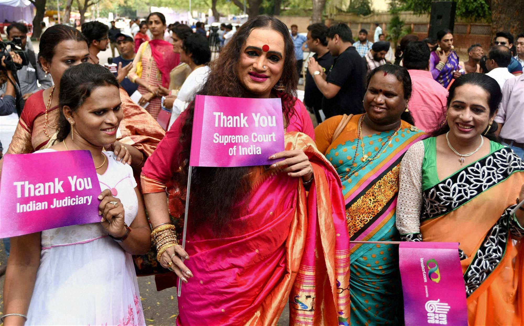 Indian govt allows transgender people to use public toilets of their choice
