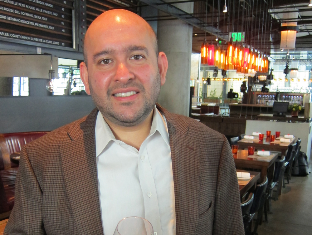 Indian-American sommelier Rajat Parr