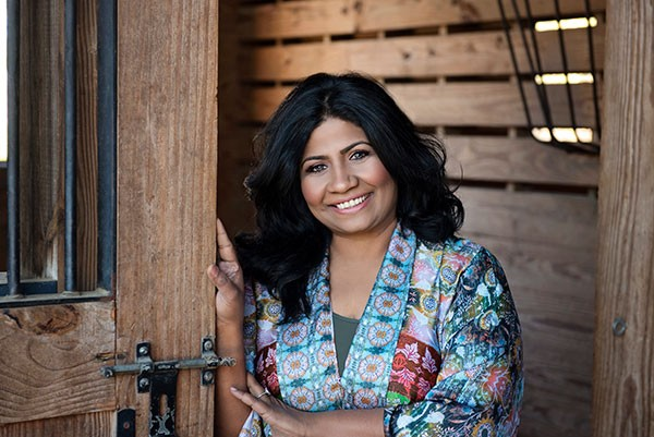 Asha Gomez - chef and cookbook author.