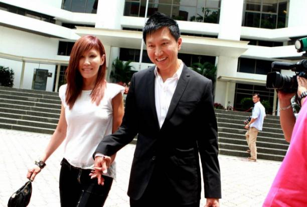 CHC founder Kong Hee and wife Sun Ho. Photo courtesy: stomp
