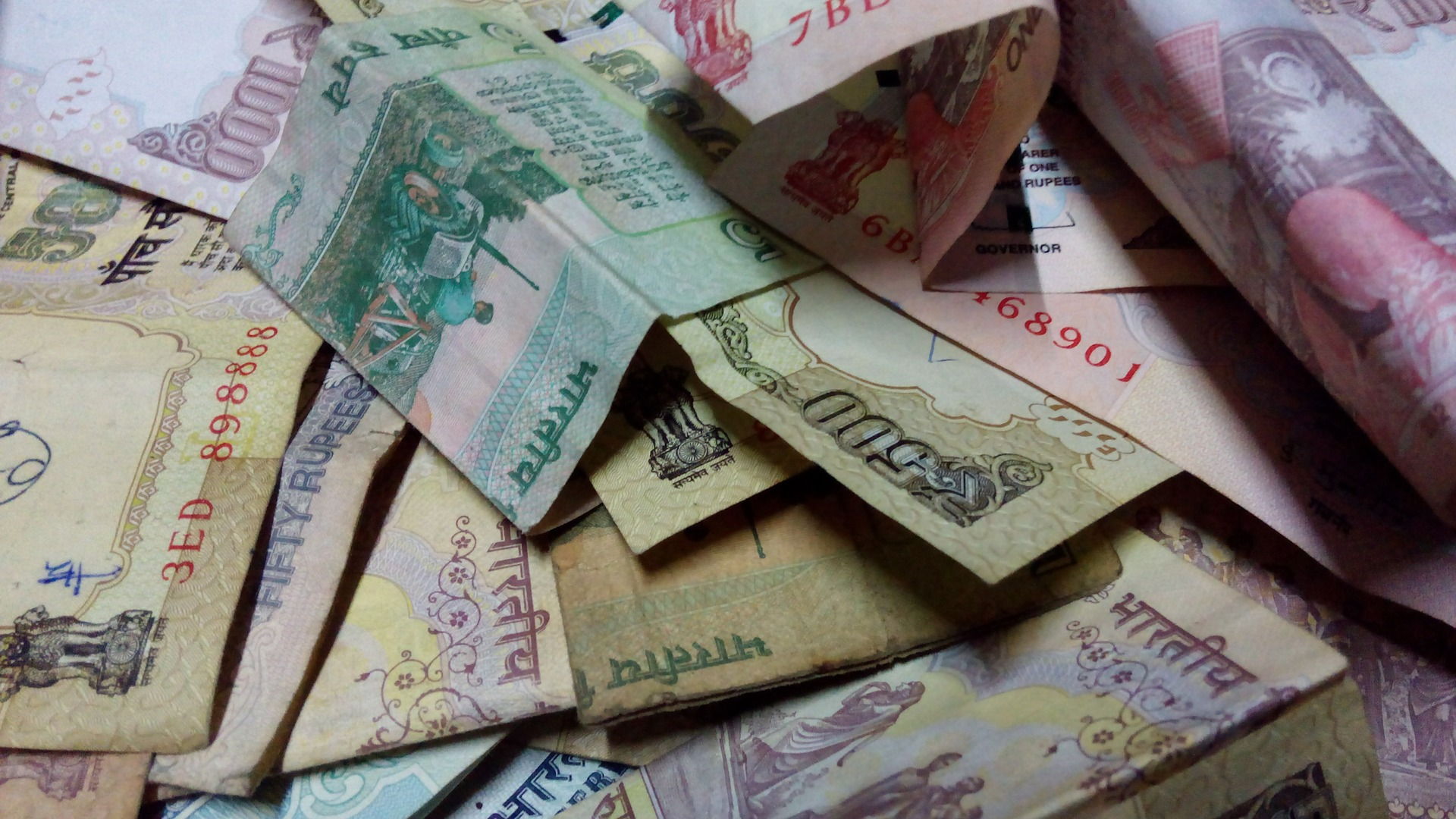 Indian currency is experiencing an upheaval.