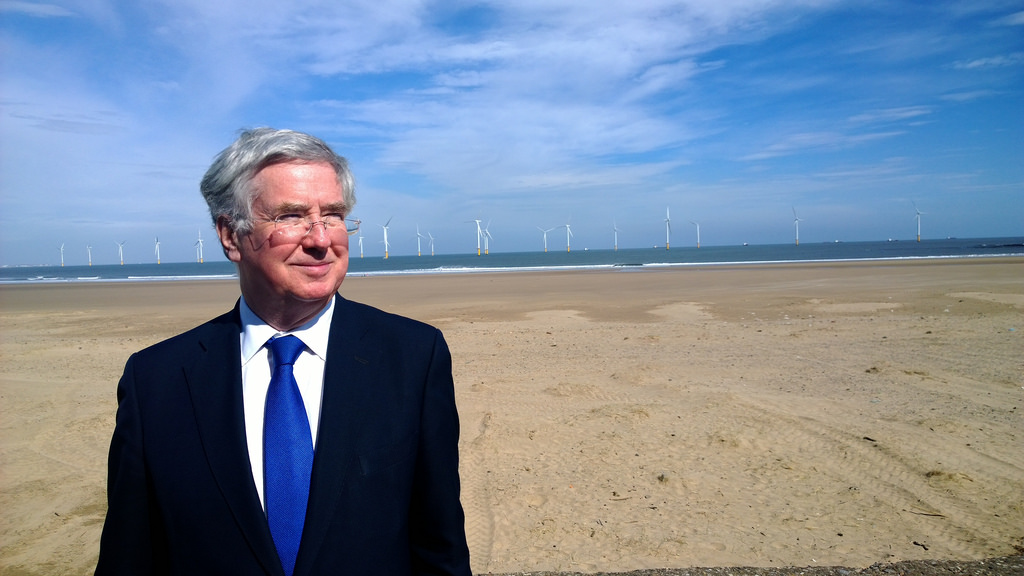 UK Defence Secretary Michael Fallon.