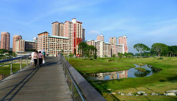 ​ Enhanced makeover around Kallang River area