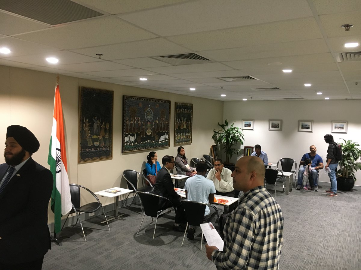 Open House at the Sydney Consulate.