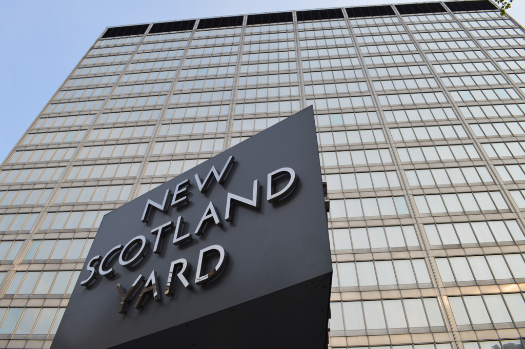 New Scotland Yard headquarters.