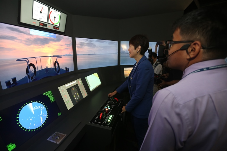 Photo courtesy: Maritime and Port Authority of Singapore