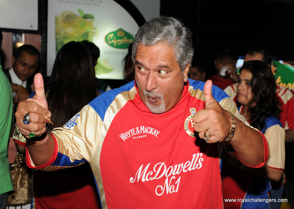 Vijay Mallya, the 'King of Good Times'.