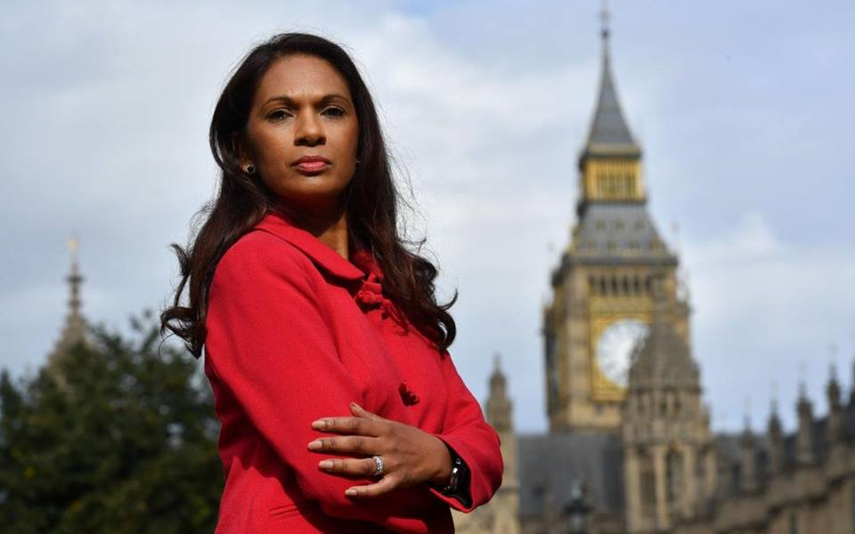 Gina Miller in London.