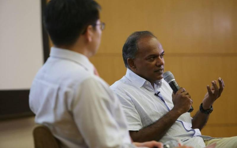 Law and Home Affairs Minister of Singapore K Shanmugam