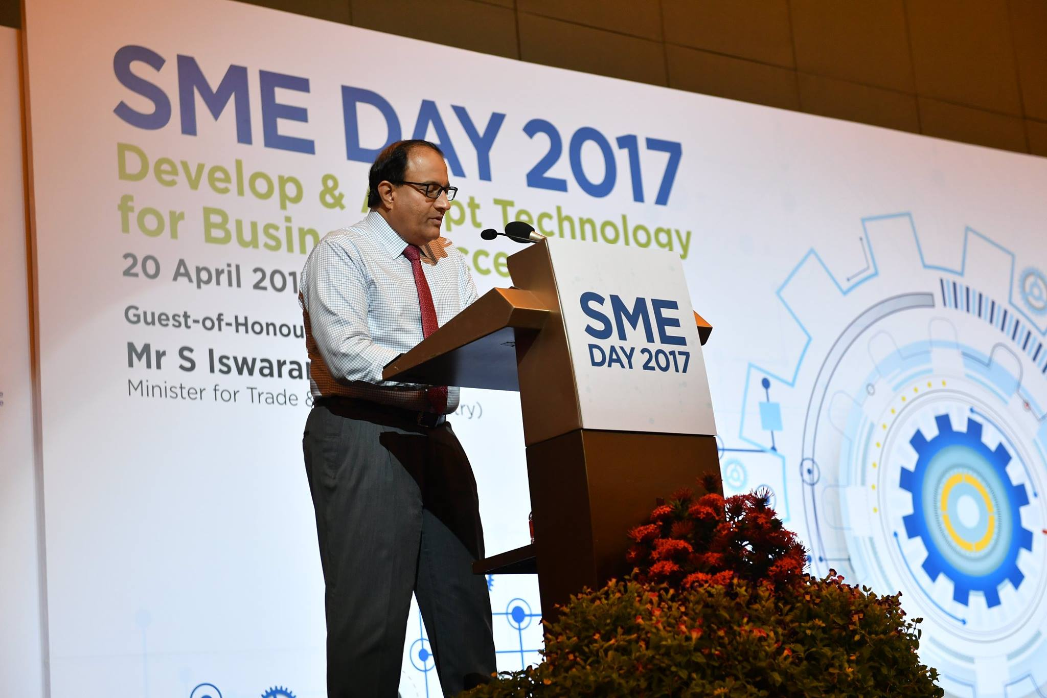 S Iswaran, Minister for Trade and Industry (Industry) in Singapore
