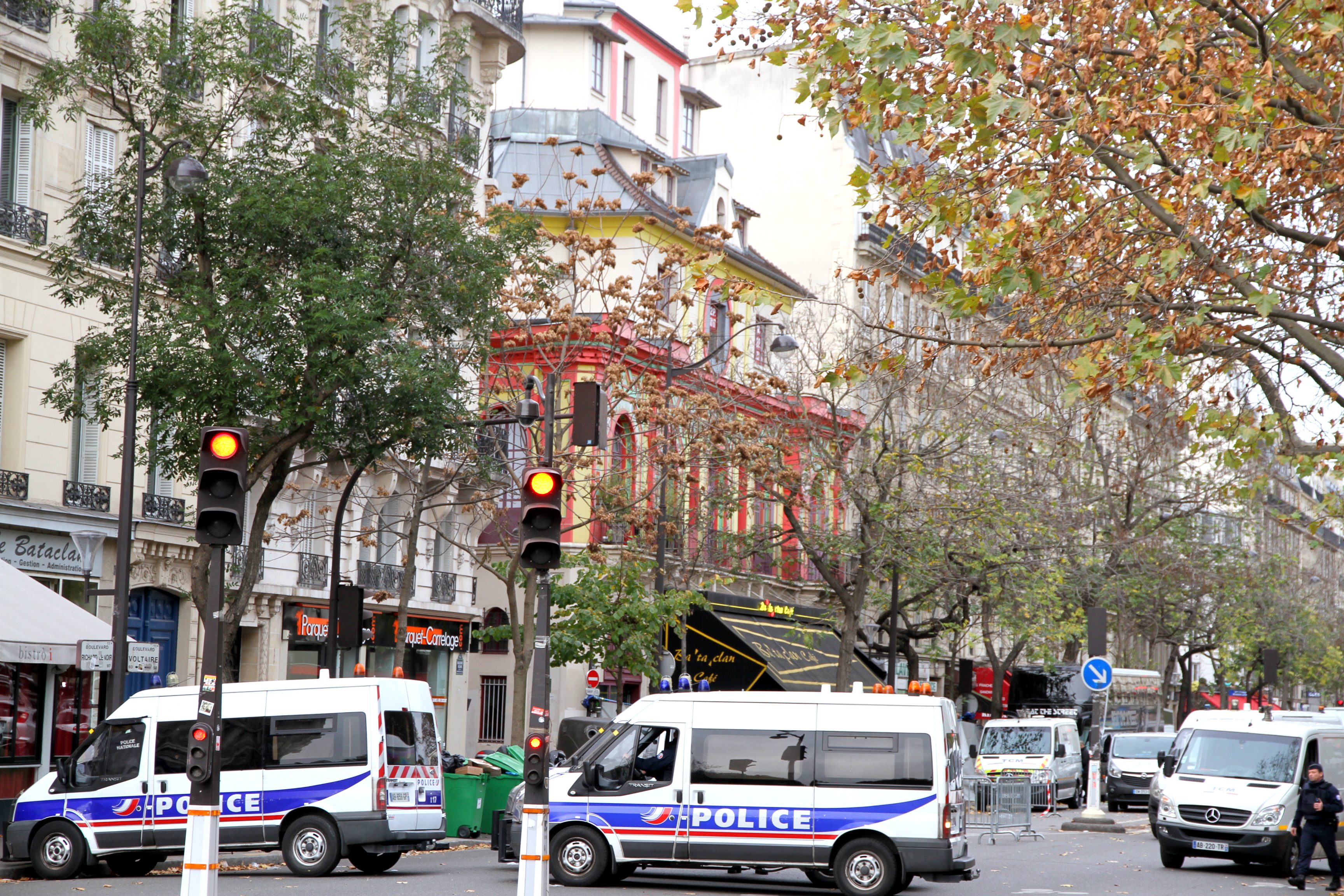 Paris has been on high alert in the wake of multiple terror attacks.