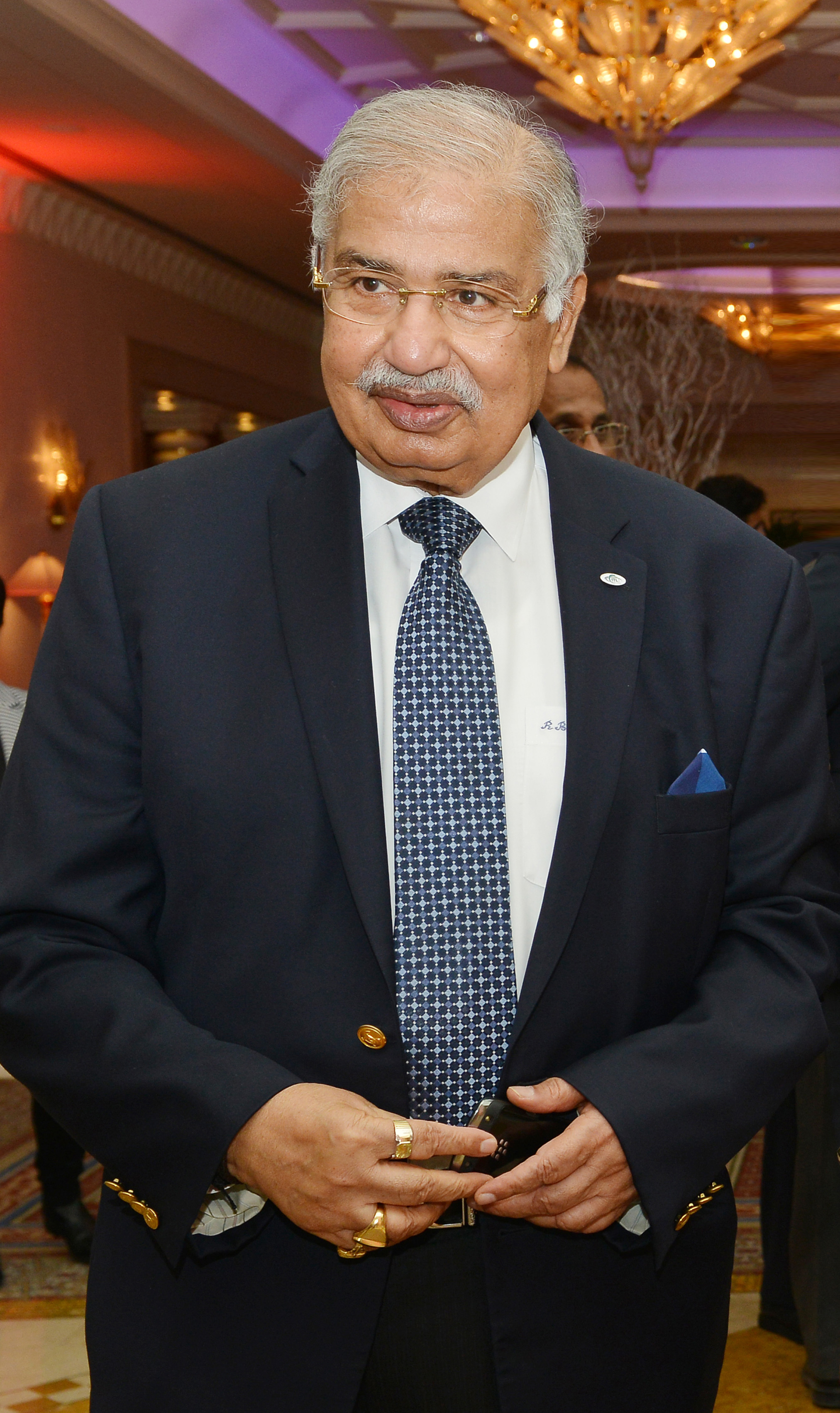 Dr Ram Buxani at an event in Dubai Photo courtesy: ITL Cosmos Group