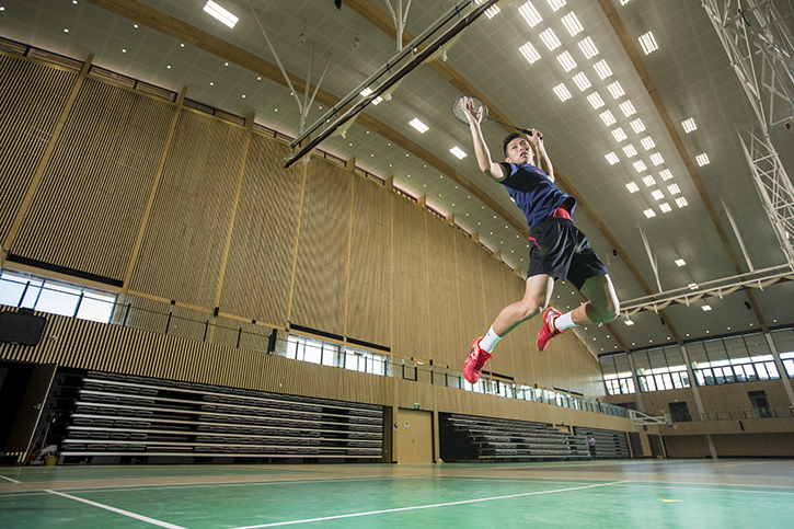 Ntu Unveils New Sports Hall Built Using Sustainable