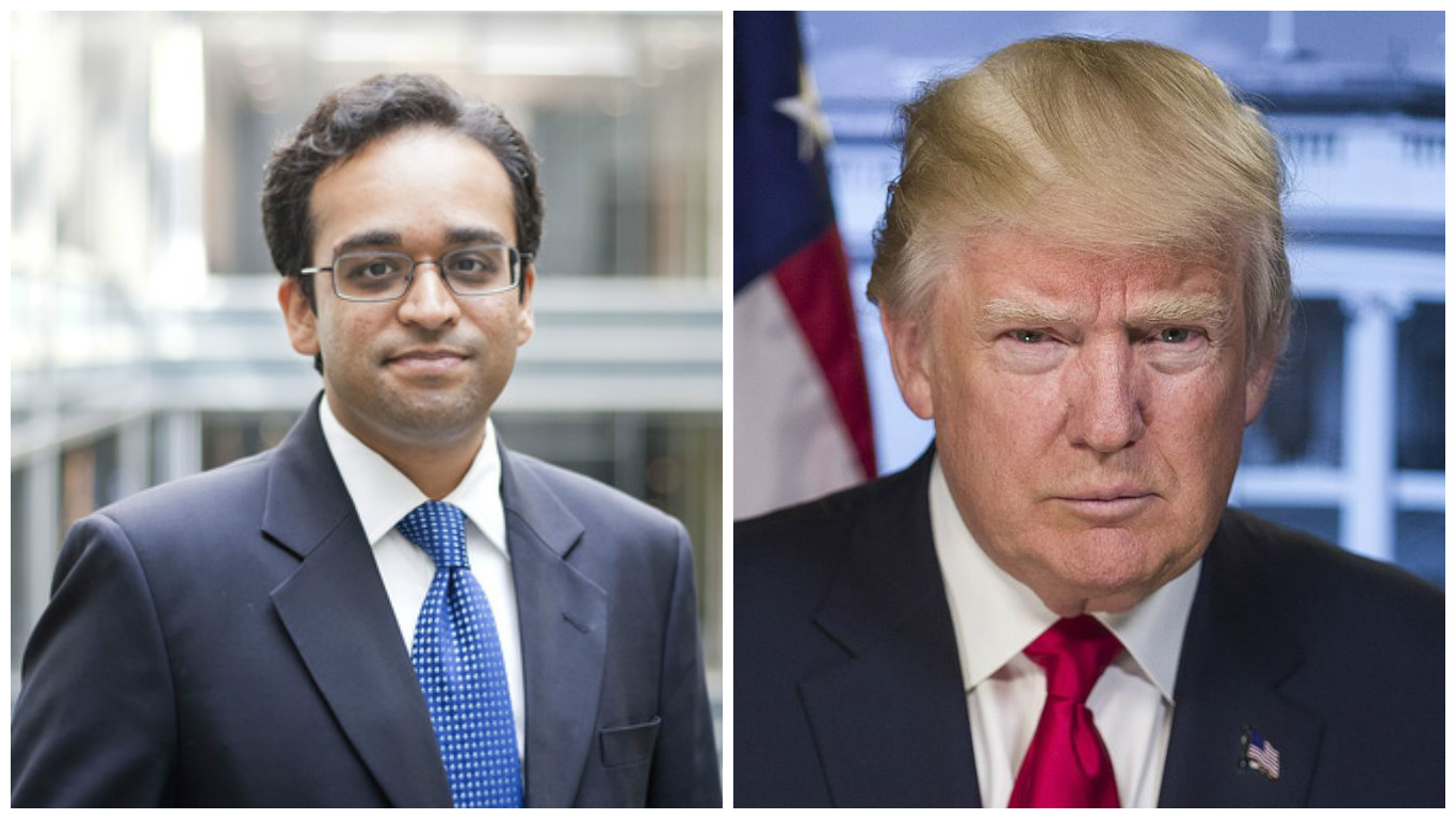 Donald Trump sends Indian-American Vishal Amin's name to Senate for 'IP czar' post confirmation