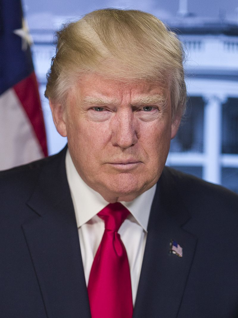 United States President Donald Trump