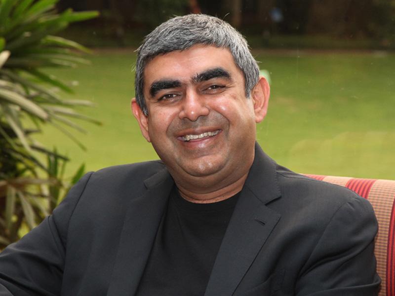 Infosys Chief Executive Vishal Sikka