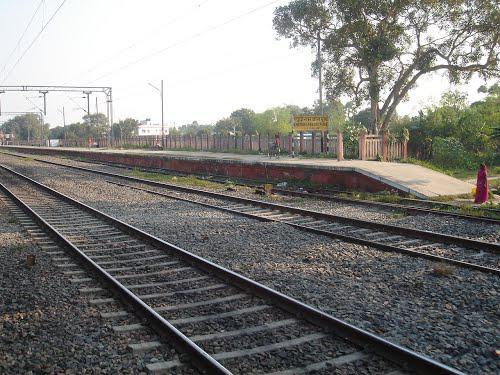 Khudiram Bose Pusa railway station.
