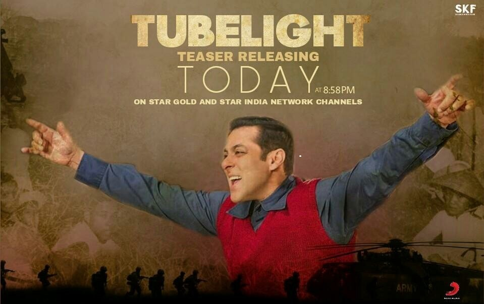 Poster for Tubelight.