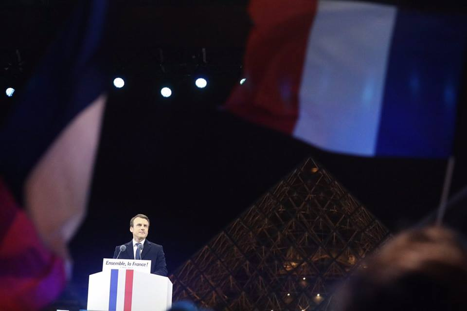 Photo courtesy: Emmanuel Macron FB