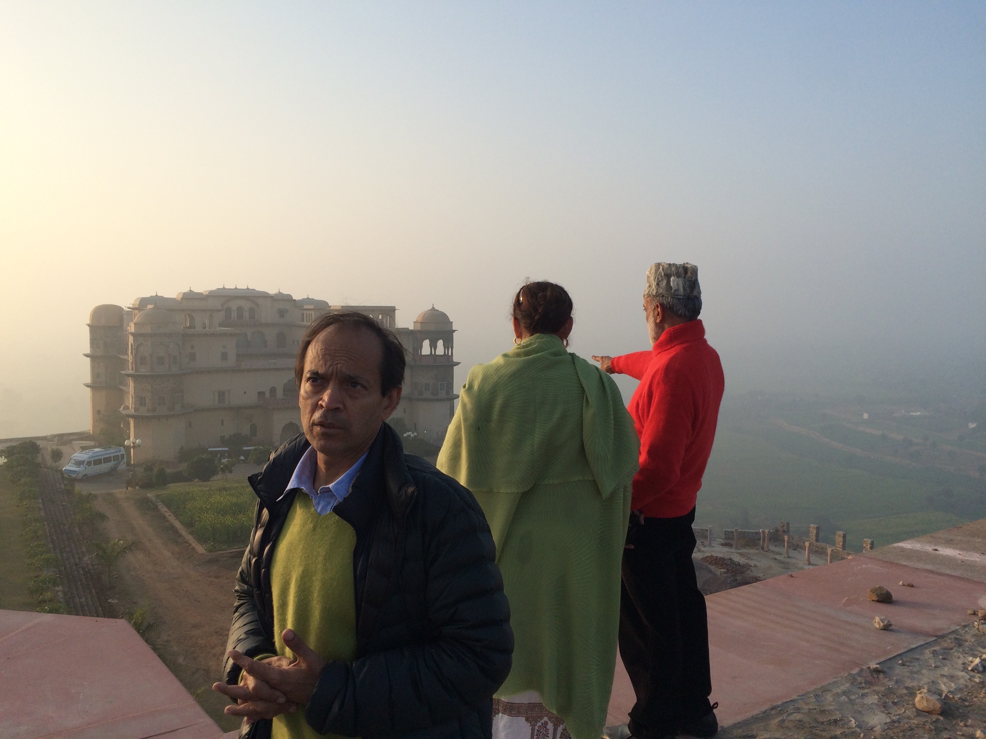 Vikram Seth in India.
