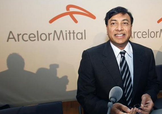 Steel magnate Lakshmi Mittal.