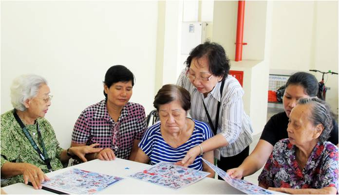 The online platform will offer various home-care services to the elderly people in Singapore.