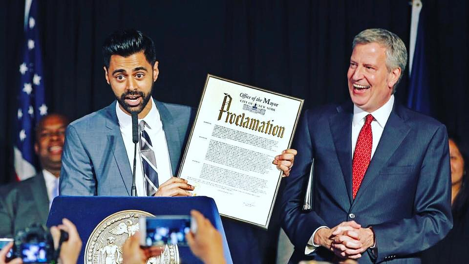Indian-American comedian Hasan Minhaj to fight for immigrant narrative