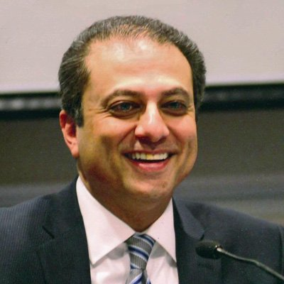 the former US Attorney for the Southern District of New York Preet Bharara