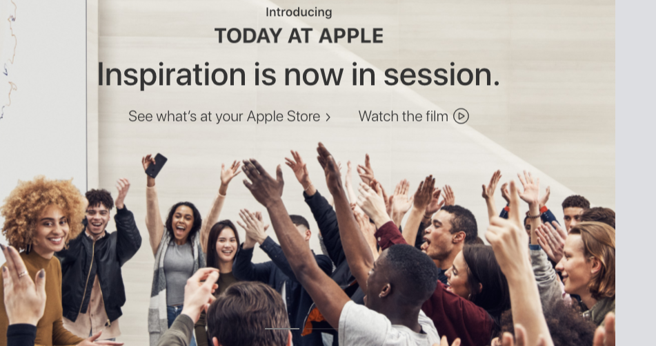 Photo courtesy: screenshot from Apple website