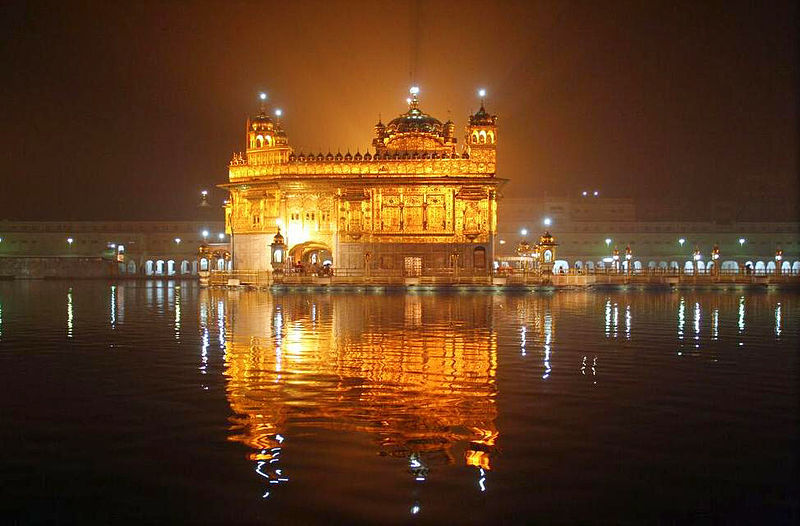 Golden Temple in Amritsar.