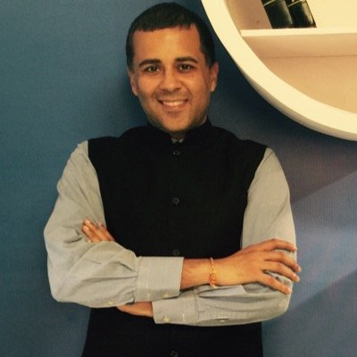 Twitter handle of Chetan Bhagat