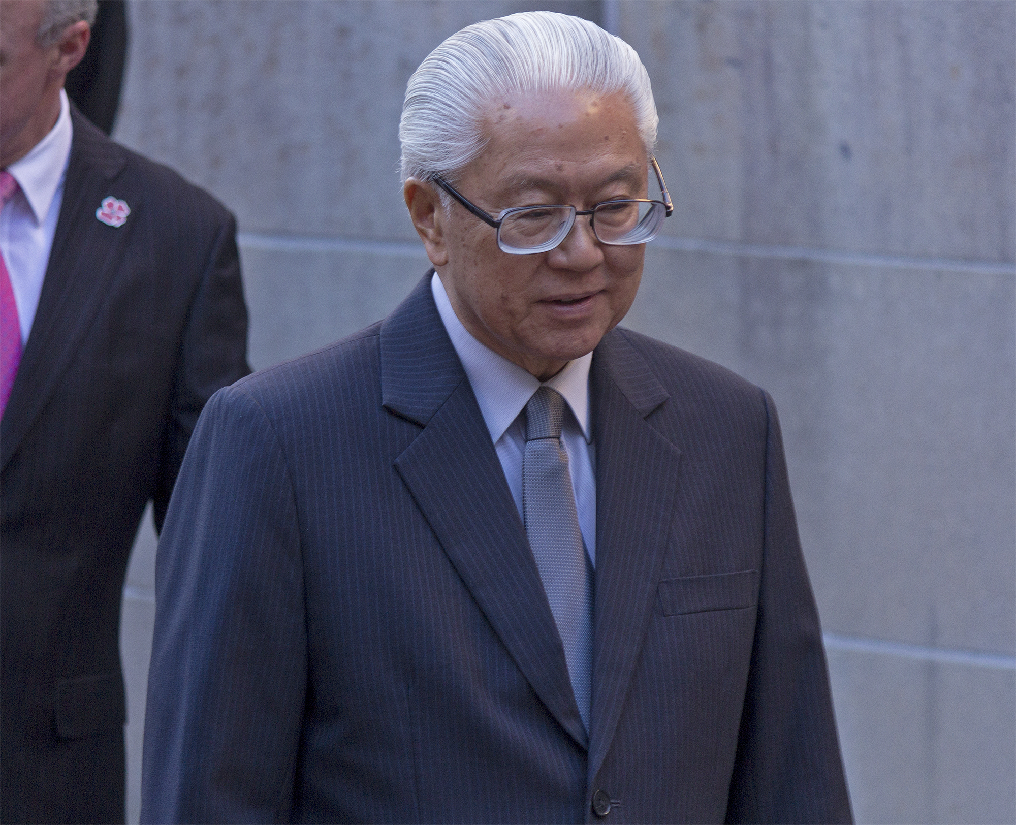 President of Singapore Dr Tony Tan Keng Yam.