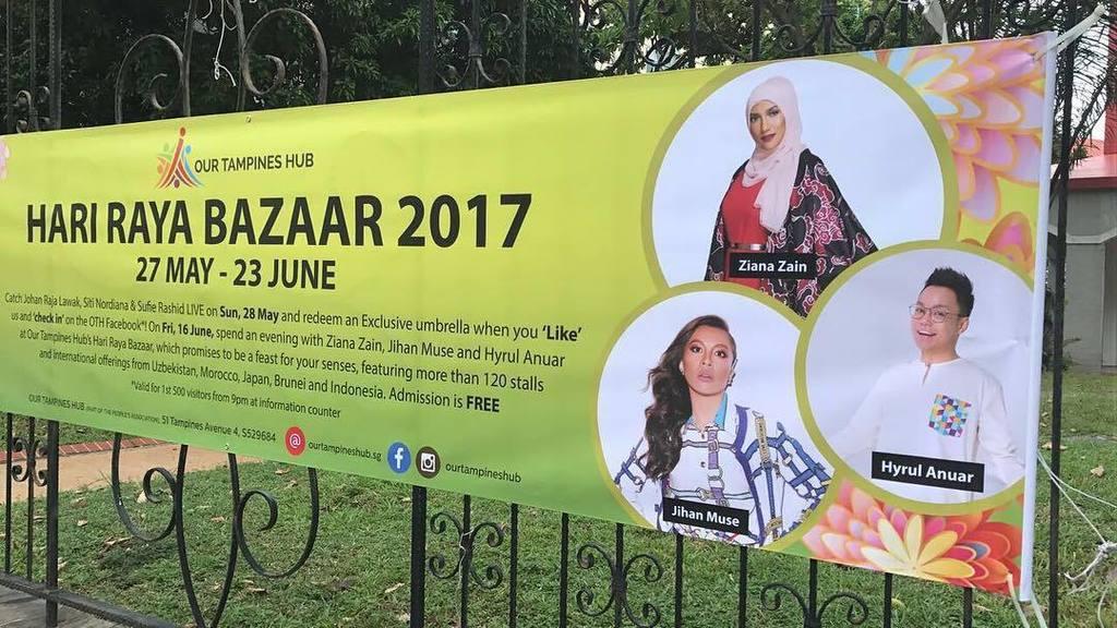 Hari raya Bazaar at Our Tampines Hub