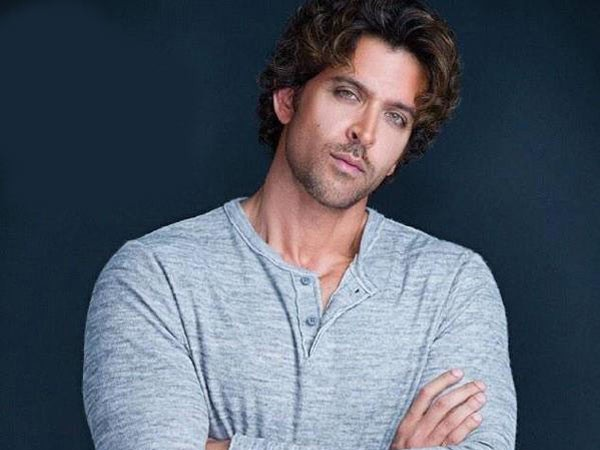 Bollywood actor Hrithik Roshan.
