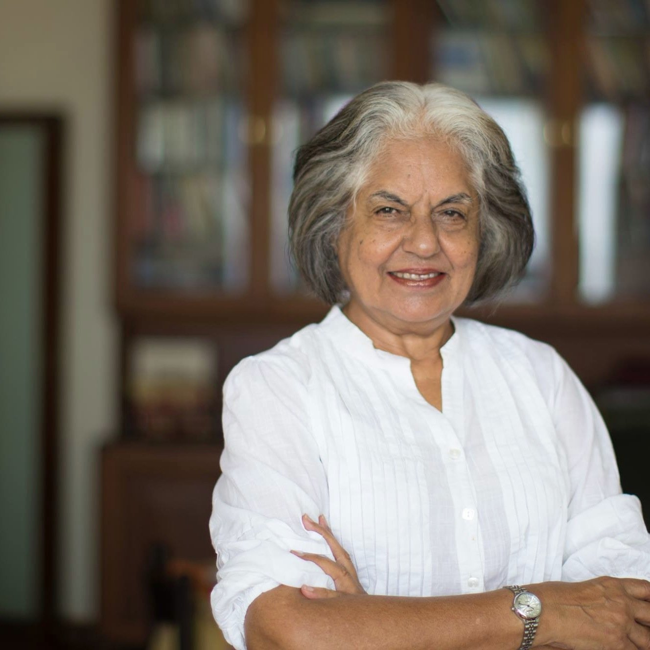 Indian rights lawyer Indira Jaising