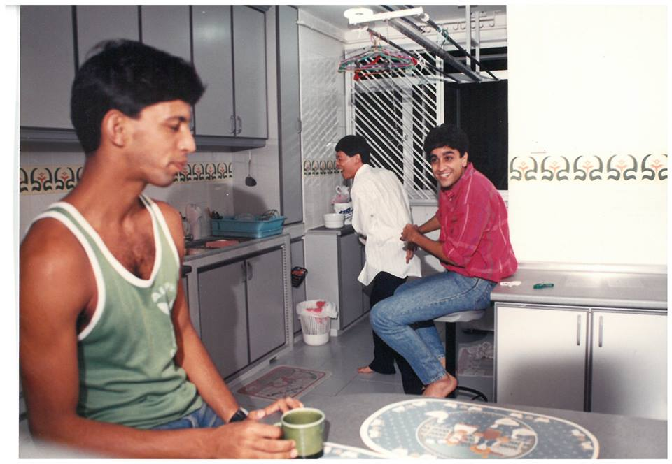 This Chord and Others, 1991. Roger Vivek Winder, Thomas Chow and Haresh Sharma. Photo courtesy: The Necessary Stage FB