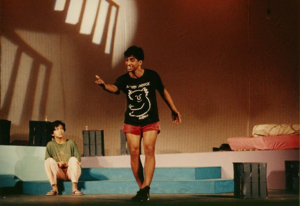 The first staging of Off Centre in 1993. Photo courtesy: The Necessary Stage FB