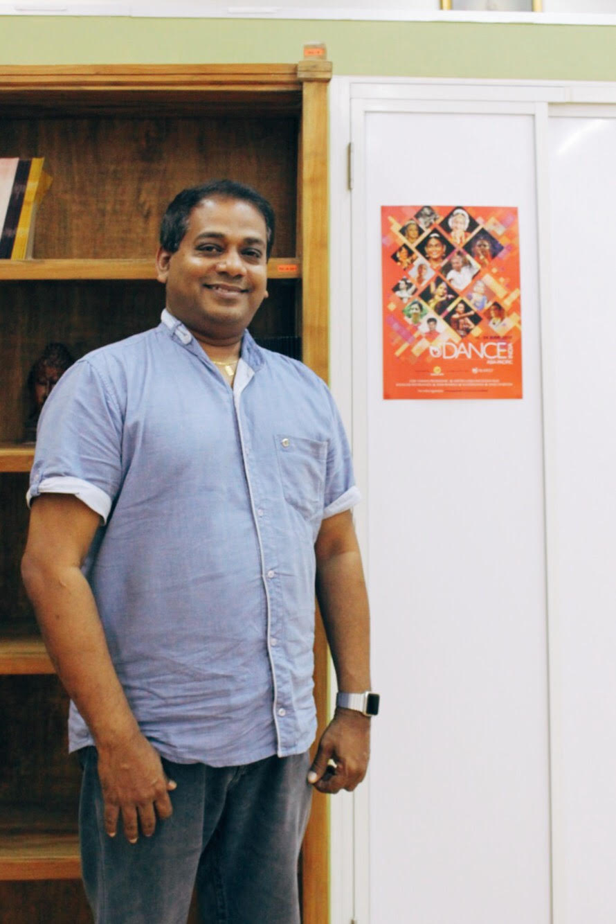 Creative and Managing Director of Apsara Arts, Aravinth Kumarasamy Photo: Connected to India